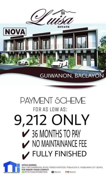 luisa estate subdivision, baclayon, bohol ,phillipines