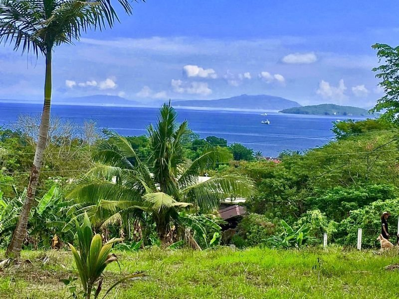 vacant residential lot with spectacular ocean views in calapan city, or. mindoro