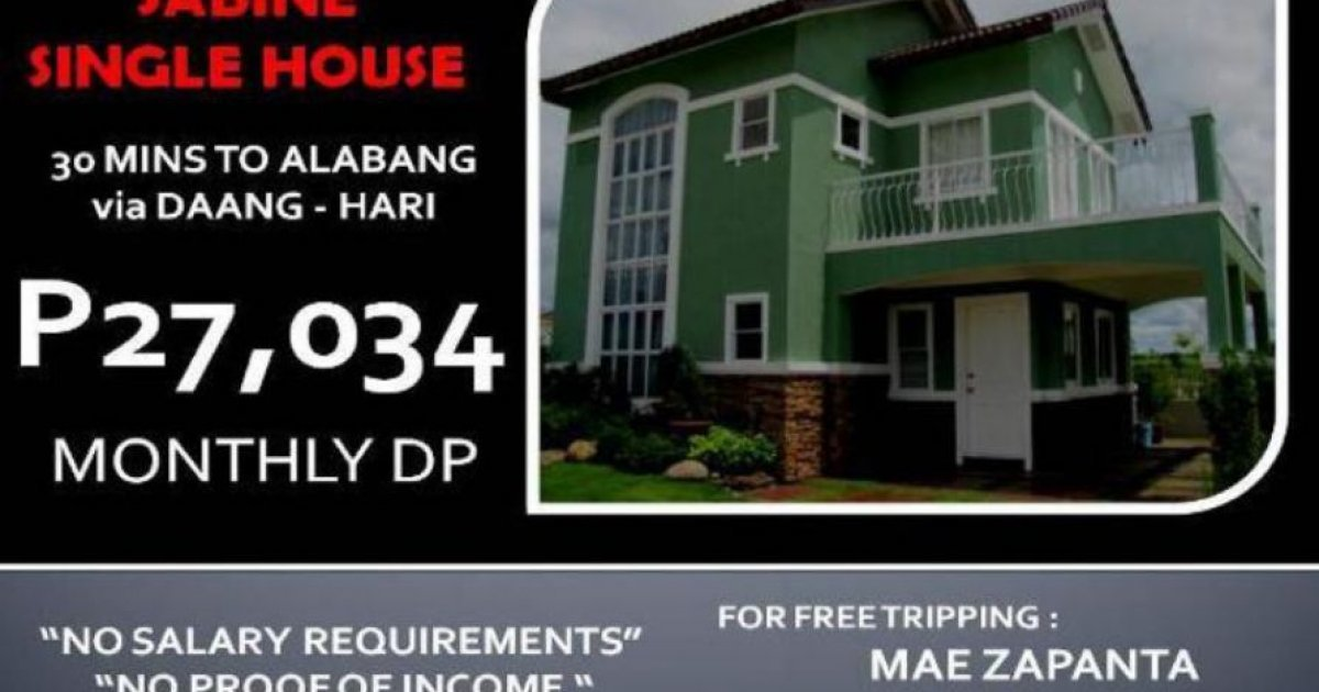 4 bed house for sale in bacoor cavite 3 200 000 1780327 dot property. Black Bedroom Furniture Sets. Home Design Ideas