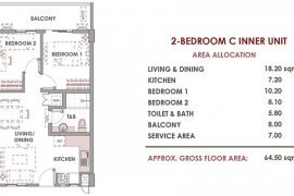2 Bedroom Condo for sale in Maple Place, Makati, Metro Manila