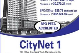 Commercial for rent in Highway Hills, Metro Manila near MRT-3 Shaw Boulevard