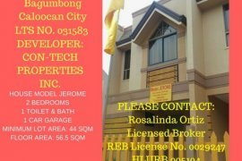 2 bedroom townhouse for sale in Metro Manila