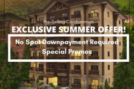 1 Bedroom Condo for sale in Crosswinds, Tagaytay, Cavite