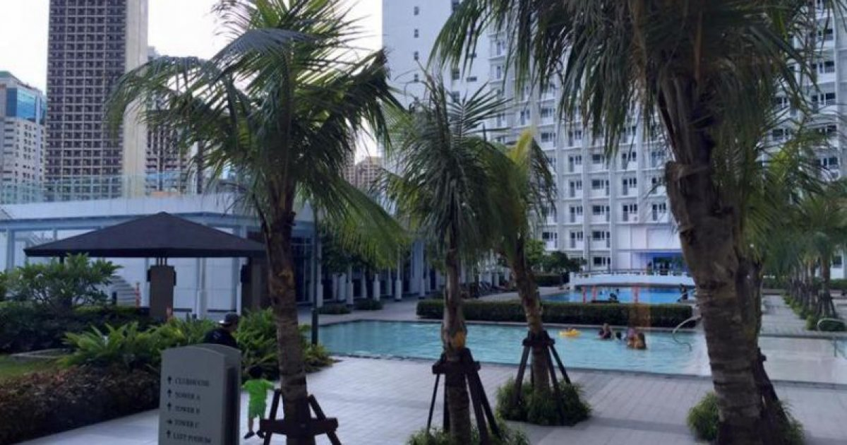 1 bed condo for rent in pasay metro manila 22 000 for I bedroom condo for rent