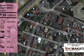 Land for sale in Pinagkaisahan, Metro Manila near MRT-3 Buendia