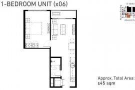 1 Bedroom Condo for sale in Mergent Residences, Makati, Metro Manila