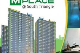 1 Bedroom Condo for sale in MPlace South Triangle, Quezon City, Metro Manila