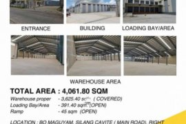 Commercial for rent in Maguyam, Cavite