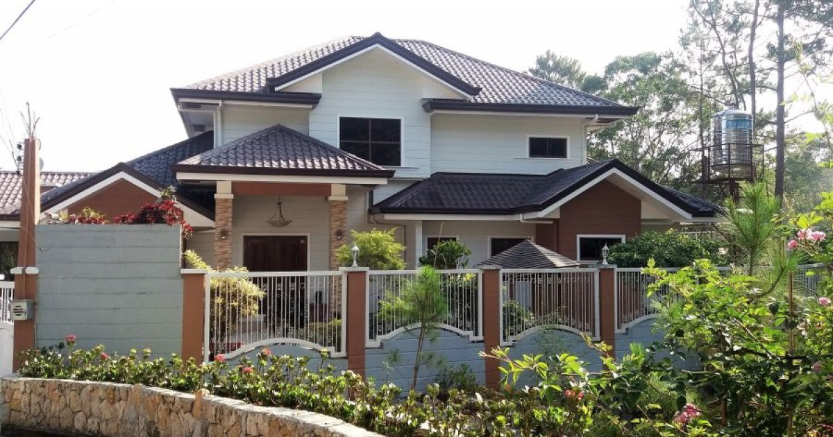 6 bed house for sale in bakakeng central baguio for Six bedroom house for sale