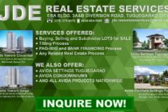 JDE REAL Estate Services