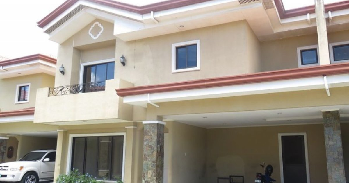three bedroom house to rent 3 bed house for rent in casuntingan mandaue 60 000 19959