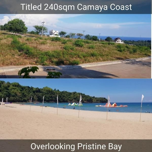 camaya coast lot for sale at a lower price - 2960677