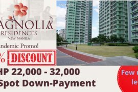 1 Bedroom Apartment for Sale or Rent in The Magnolia residences – Tower D, Quezon City, Metro Manila