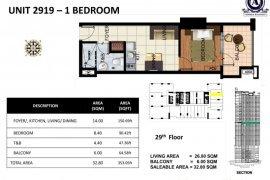 1 bedroom condo for sale in Admiral Baysuites