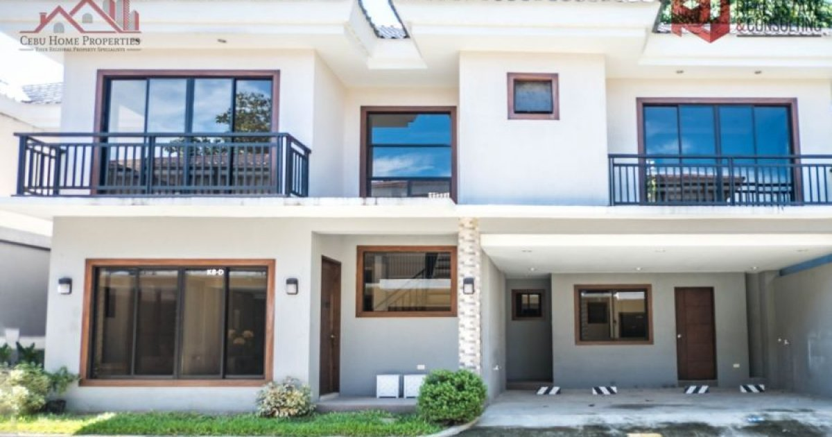 5 Bed Townhouse For Rent In Guadalupe, Cebu City ₱70,000