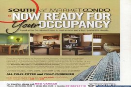 1 bedroom condo for rent in Taguig, Metro Manila