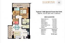 2 bedroom condo for sale in Illumina Residences Manila