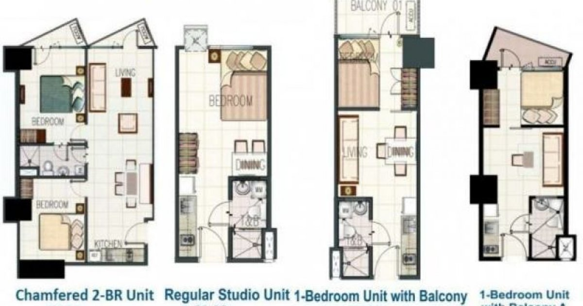 1 bed condo for rent in jazz residences 29 000 1975591 for I bedroom condo for rent