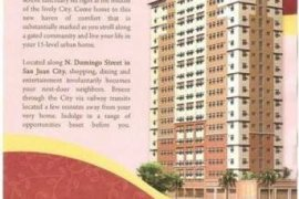 Condo for sale in Little Baguio Terraces
