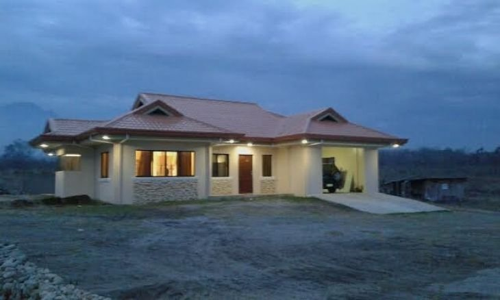 brand new house with swimming pool