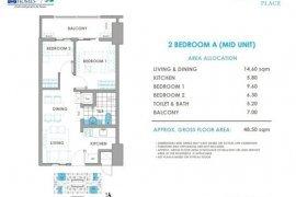 2 Bedroom Condo for sale in Brixton Place, Kapitolyo, Metro Manila near MRT-3 Boni