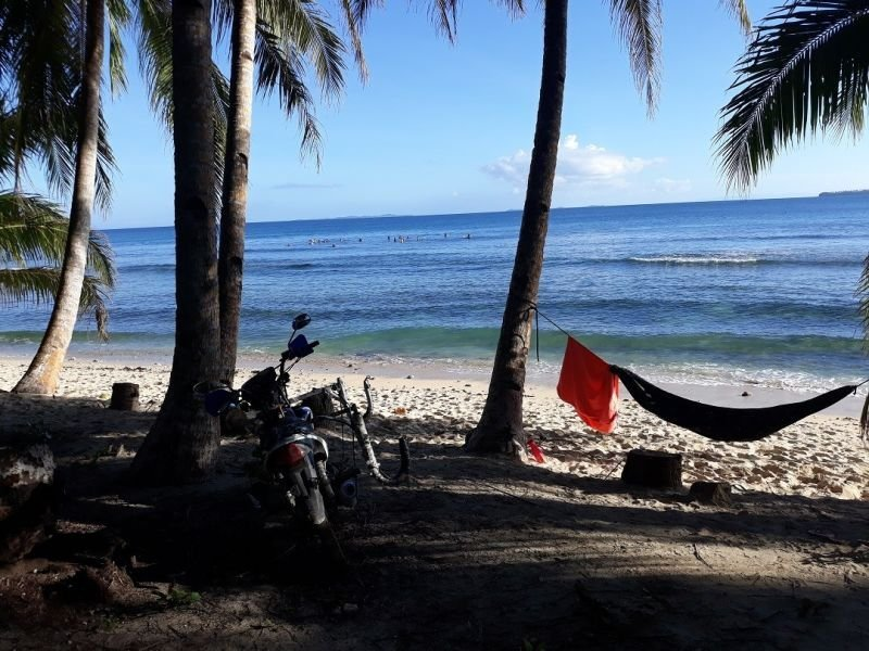surfing beach front titled lots siargao philippines