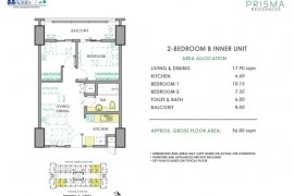2 Bedroom Condo for sale in Prisma Residences, Bagong Ilog, Metro Manila