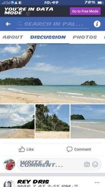 whitesand beach in roxas elnido palawan