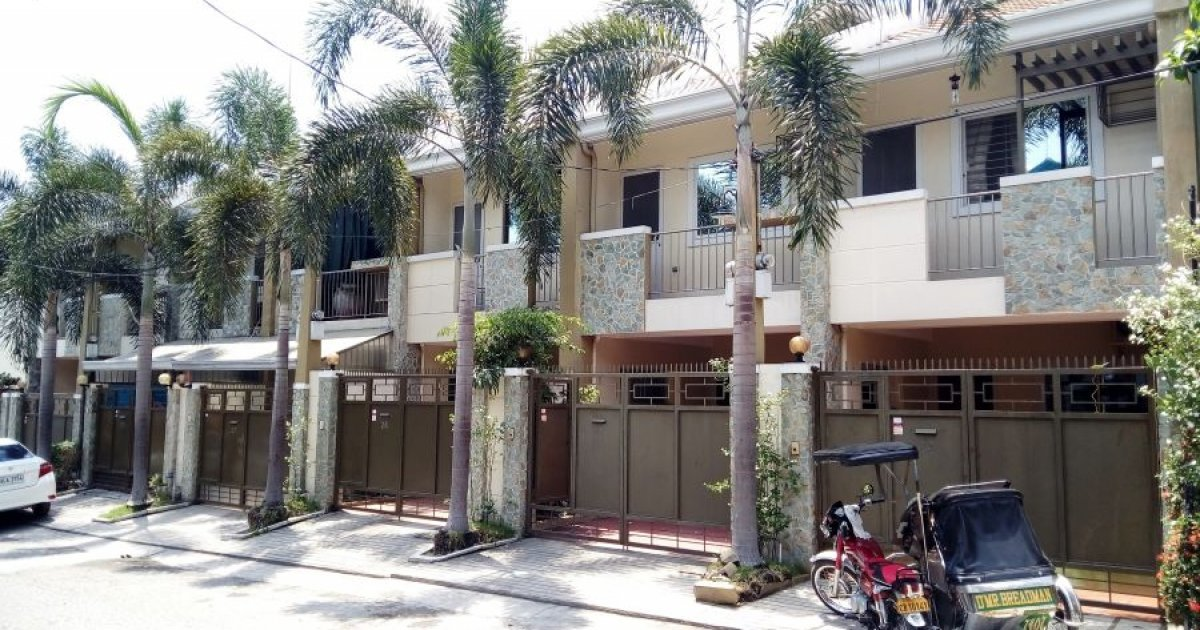 3 bed townhouse for rent in malabanias angeles 35 000 17995 | 3 bedroom townhouse for rent in malabanias angeles