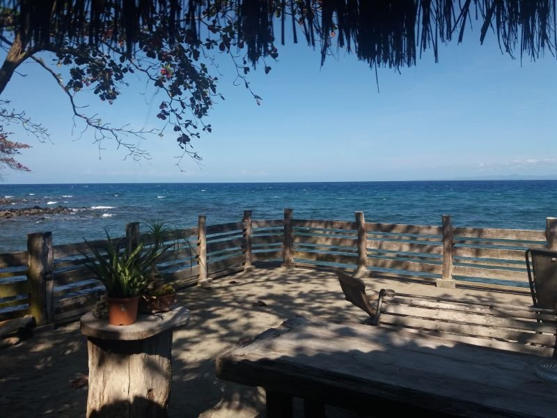 bacong beach front house