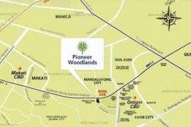 2 Bedroom Condo for Sale or Rent in Pioneer Woodlands, Mandaluyong, Metro Manila near MRT-3 Boni