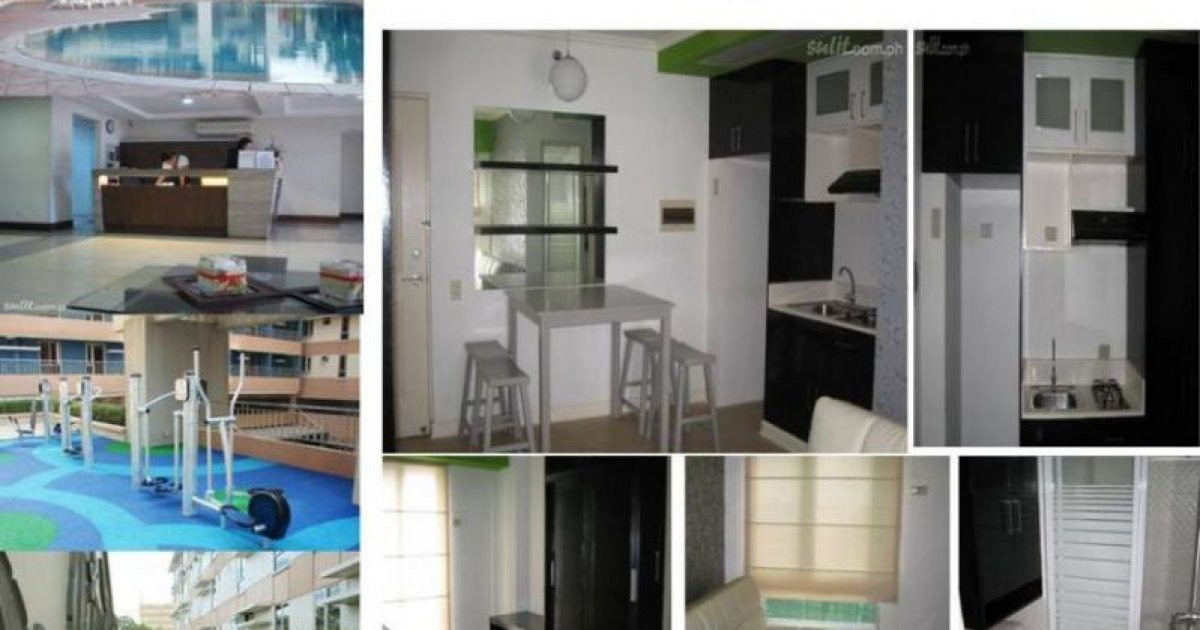 1 bed condo for rent in quezon city manila 14 000 for Cocktail tables for rent quezon city