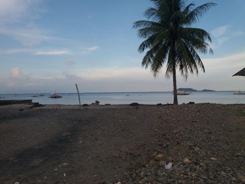 ideal beach lot for a resort