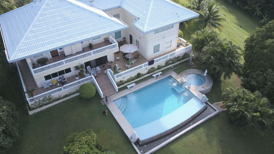overlooking mansion with great view of cebu island