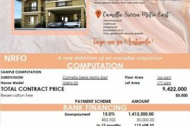 3 Bedroom House for sale in Camella Sierra Metro East, Antipolo, Rizal