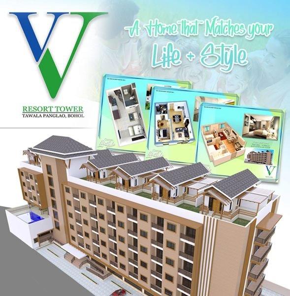 vv resort condominium -studio type boholana realty