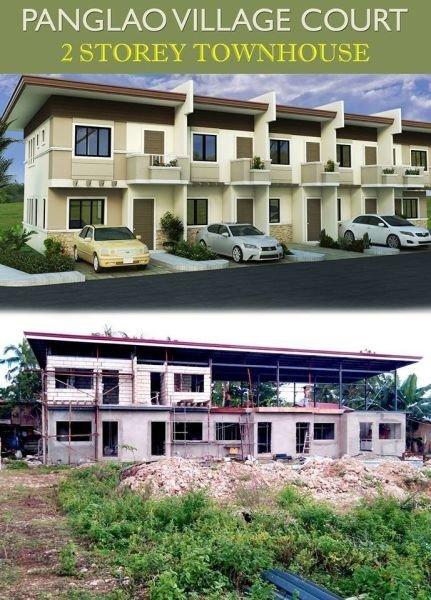 panglao village court townhouse-mid unit boholana realty
