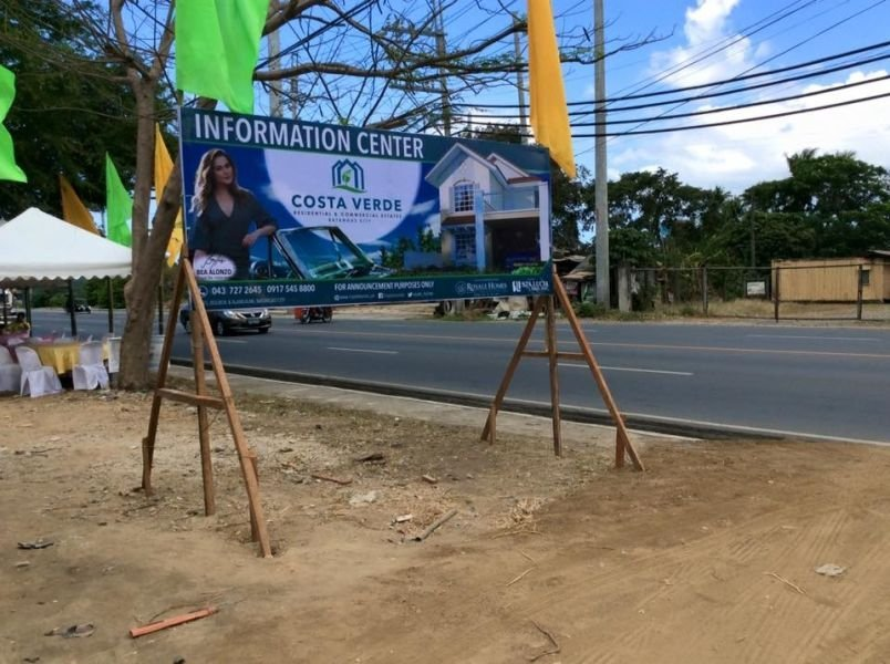 rush for sale lot in batangas city