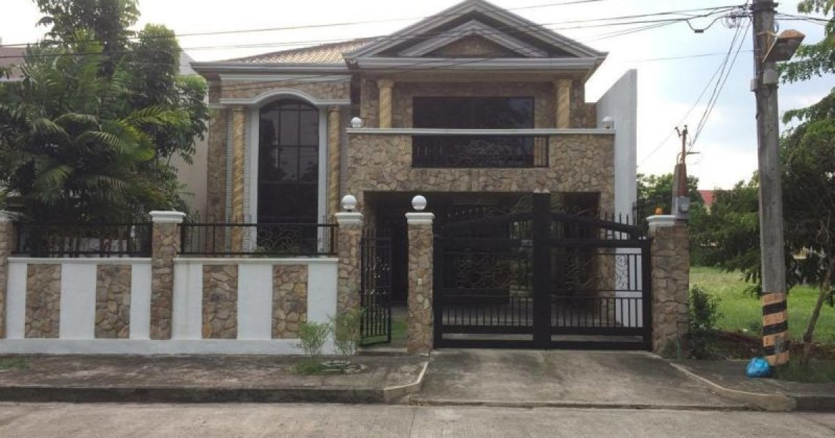 bed house for rent in pulung cacutud angeles 45 000 2088492