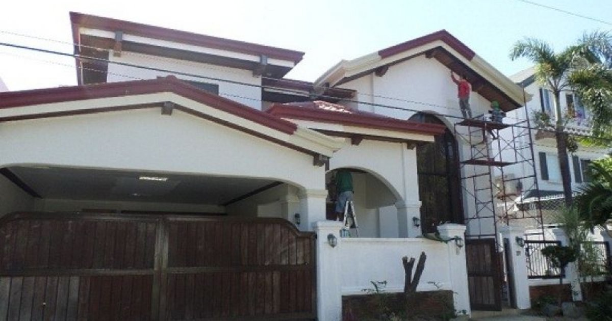6 bed house for sale or rent in para aque metro manila for Six bedroom house for sale