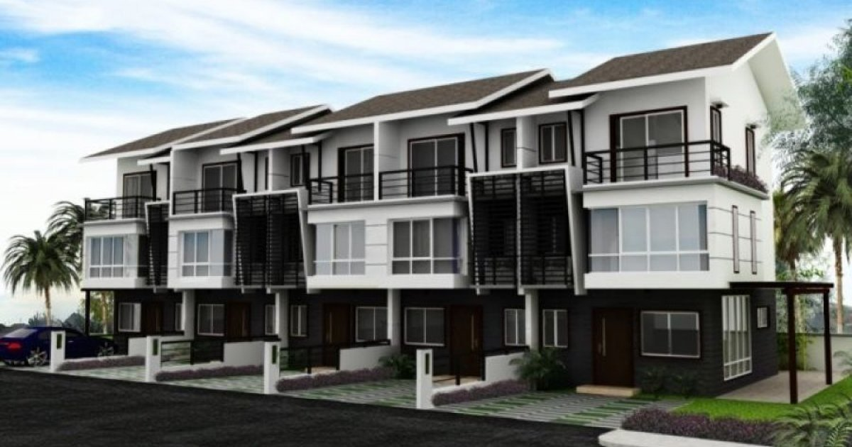 4 bed townhouse for rent in mahogany place iii 60 000 1980298 dot property. Black Bedroom Furniture Sets. Home Design Ideas