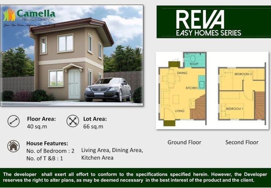 camella homes lessandra phase 3 - reva