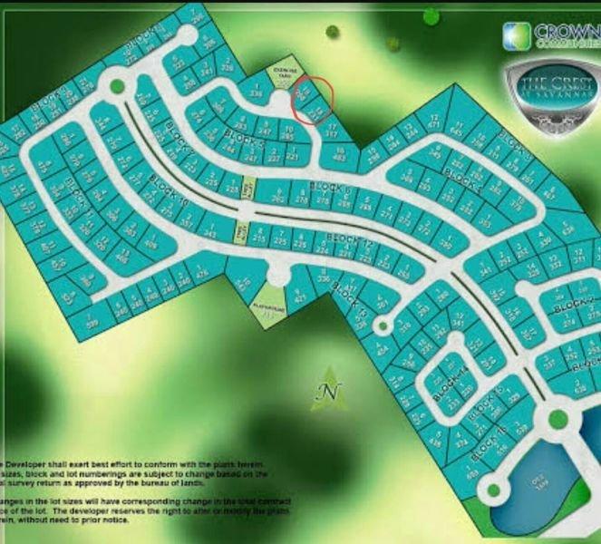 savannah crest lot for sale