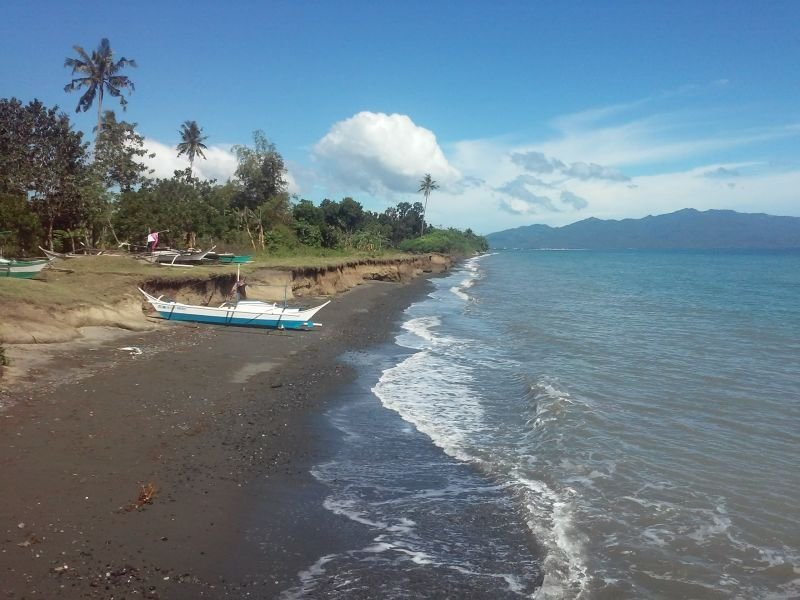 a farmland property with beachfront 4 hectares