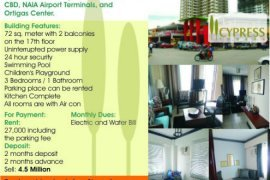 3 bedroom condo for rent in Ususan, Taguig