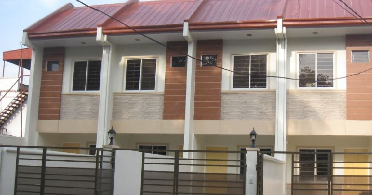 4 bed townhouse for rent in tandang sora quezon city for Four bedroom townhouse