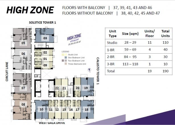 Pre Selling 2 Br Callisto Tower 2 Circuit Makati Condo For Sale In Metro Manila Dot Property