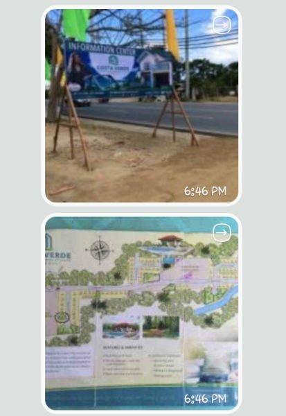 sale lots area 252 at coast verde subd batangas city