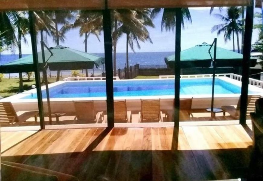 house for sale front of the beach in dimiao bohol