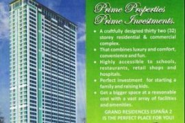 2 bedroom condo for sale in Sampaloc East, Manila